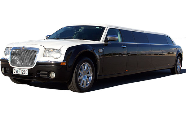 Funeral Limo Perth White with Driver - 10 Seater Limousine