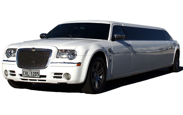Funeral Limo Perth White with Driver